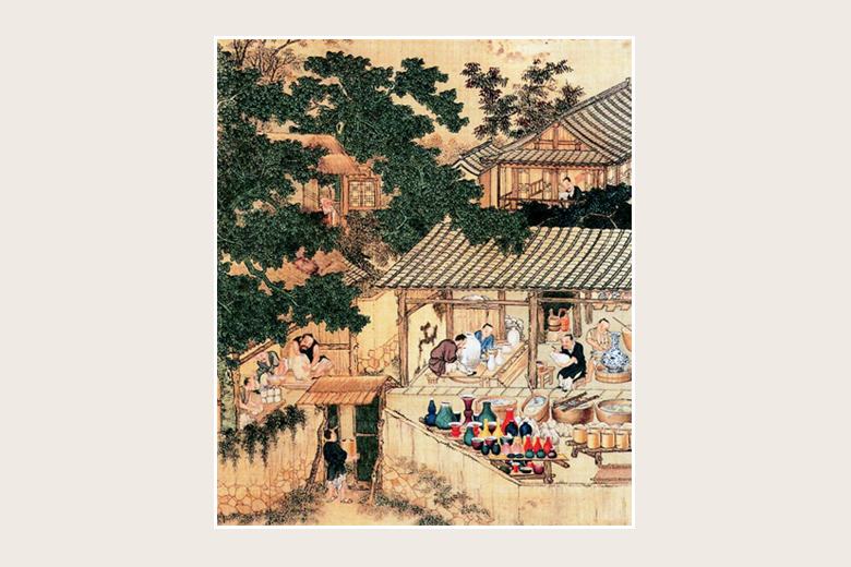 asian contribution literature