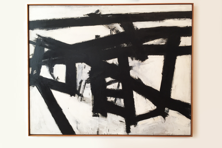 American Abstract Expressionists Franz Kline (above) was influenced by Chinese calligraphy.